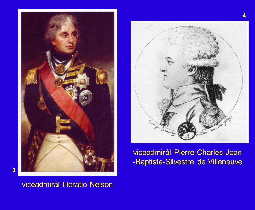 viceadmirál Pierre-Charles-Jean -Baptiste-Silvestre de Villeneuve