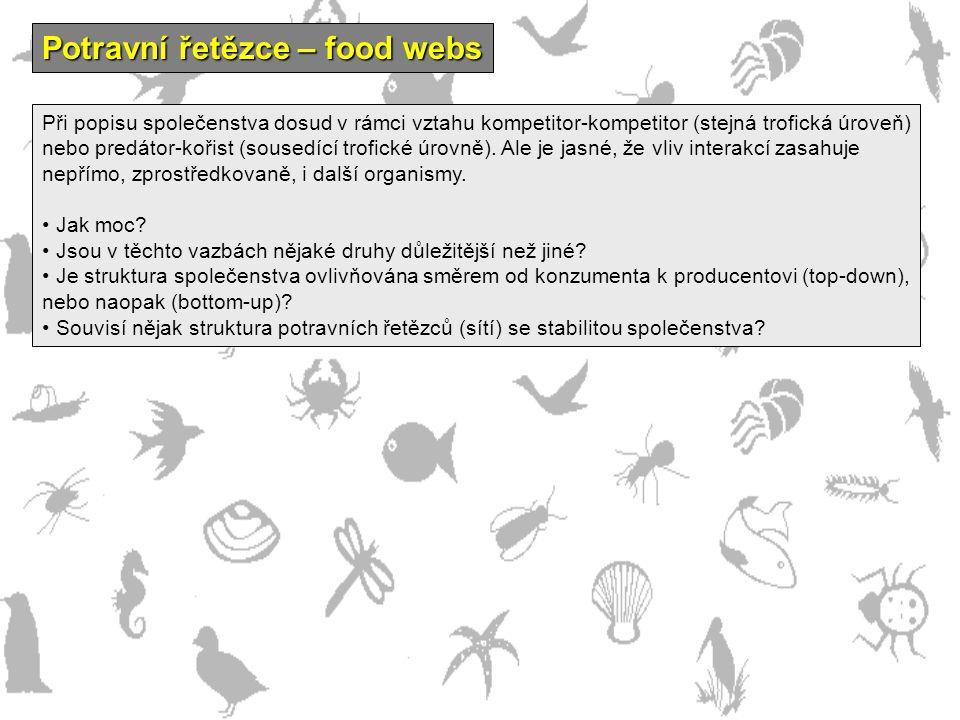 Potravní řetězce – food webs