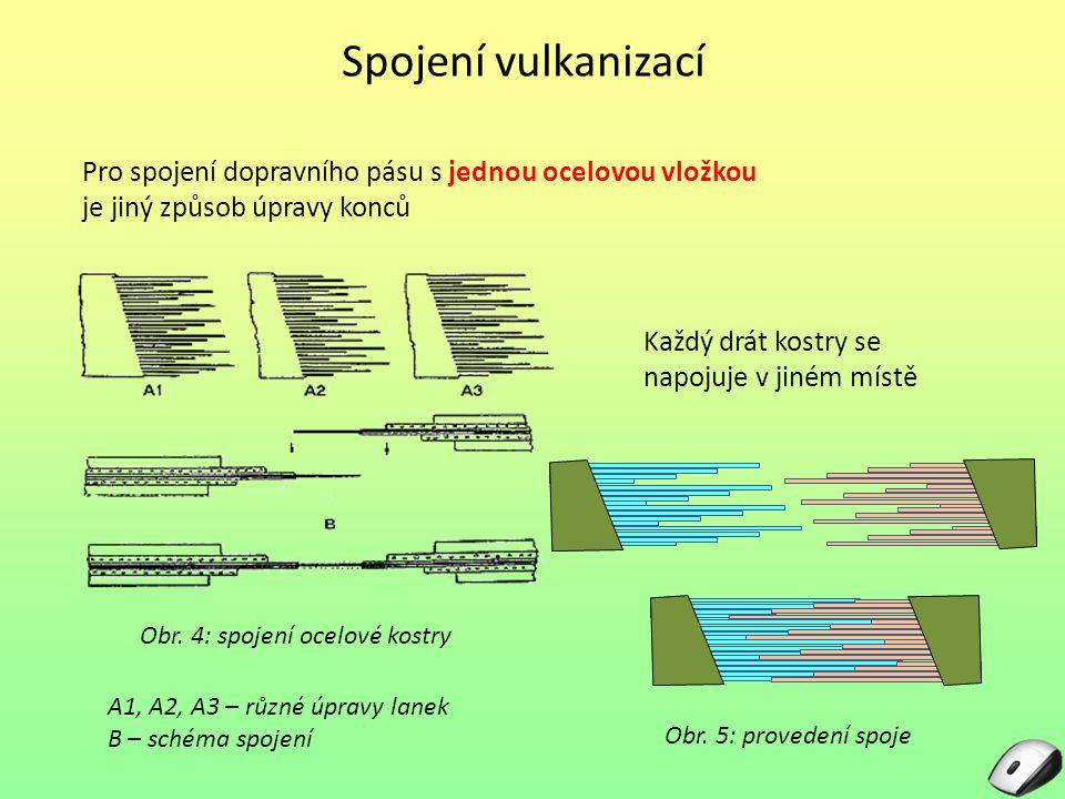 Obr. 4: spojení ocelové kostry