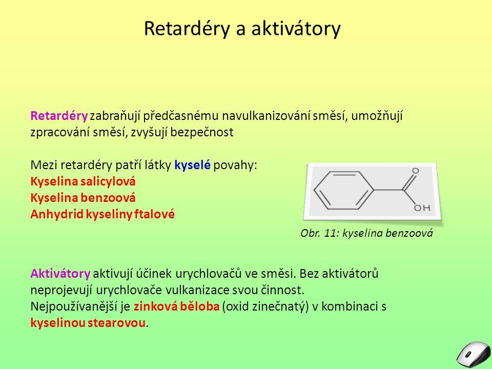 Retardéry a aktivátory