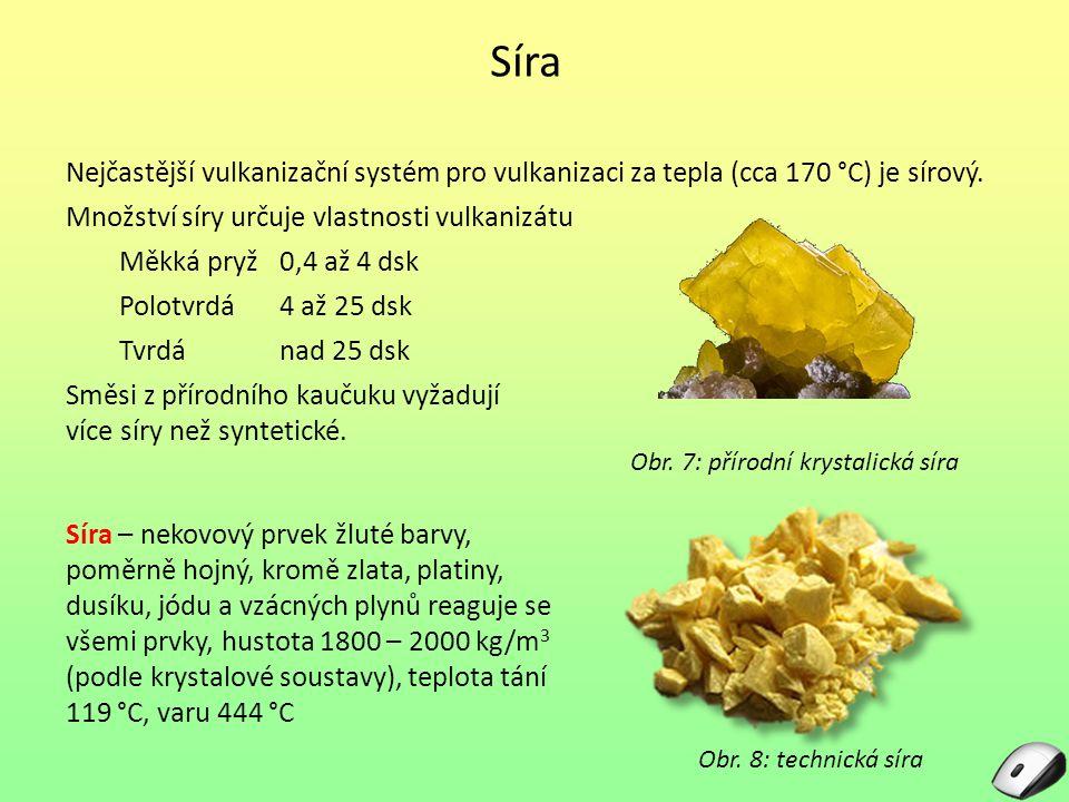 Obr. 7: přírodní krystalická síra