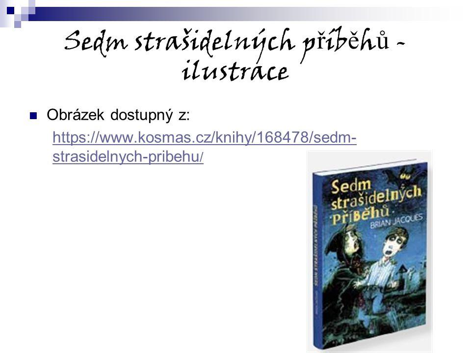 Sedm strašidelných příběhů -ilustrace