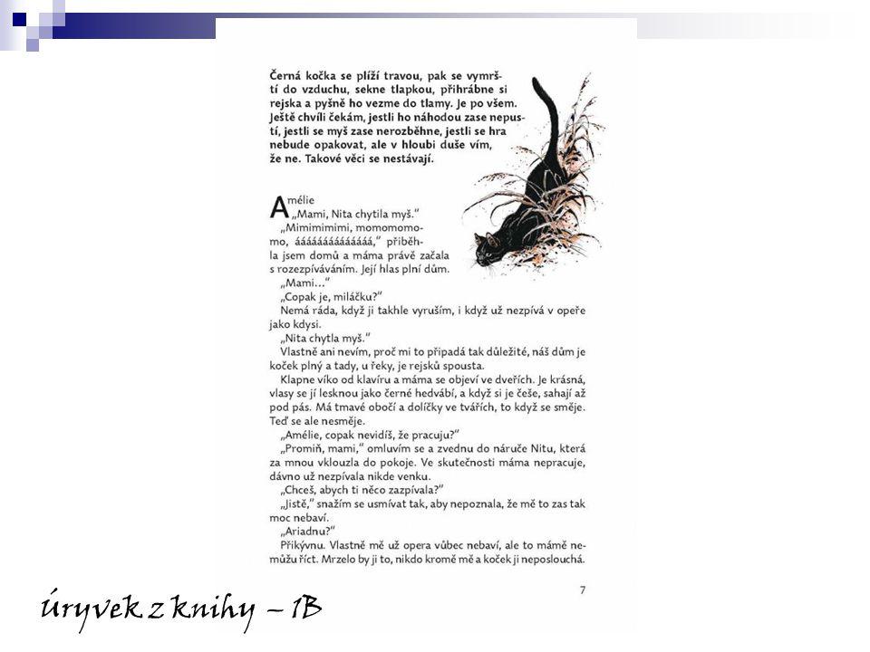 Úryvek z knihy – 1B