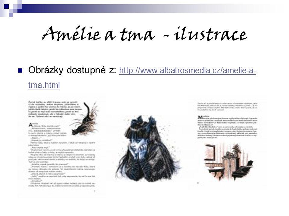 Amélie a tma - ilustrace