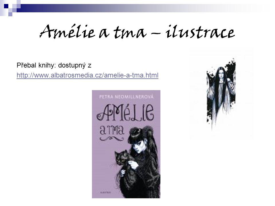 Amélie a tma – ilustrace