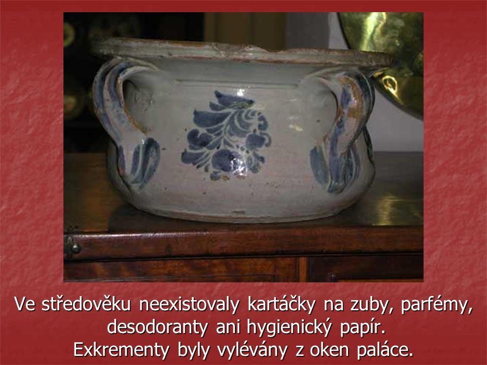 Ve středověku neexistovaly kartáčky na zuby, parfémy,