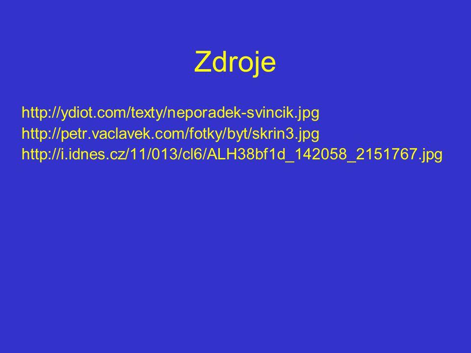 Zdroje http://ydiot.com/texty/neporadek-svincik.jpg