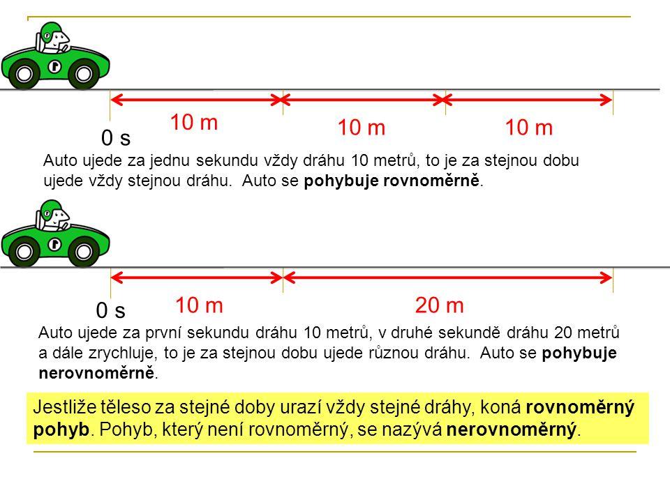 10 m 10 m. 10 m. 1 s. 2 s. 3 s. 0 s.