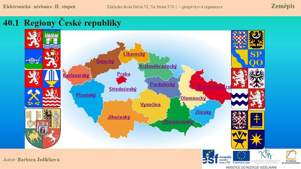 40.1 Regiony České republiky