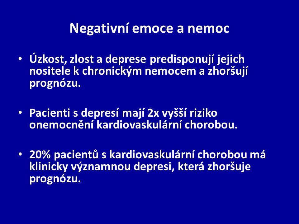 Negativní emoce a nemoc