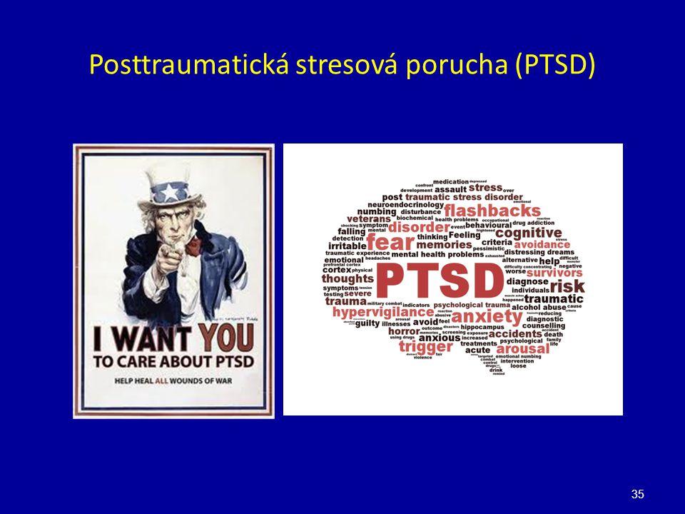 Posttraumatická stresová porucha (PTSD)