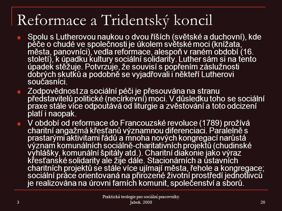 Reformace a Tridentský koncil