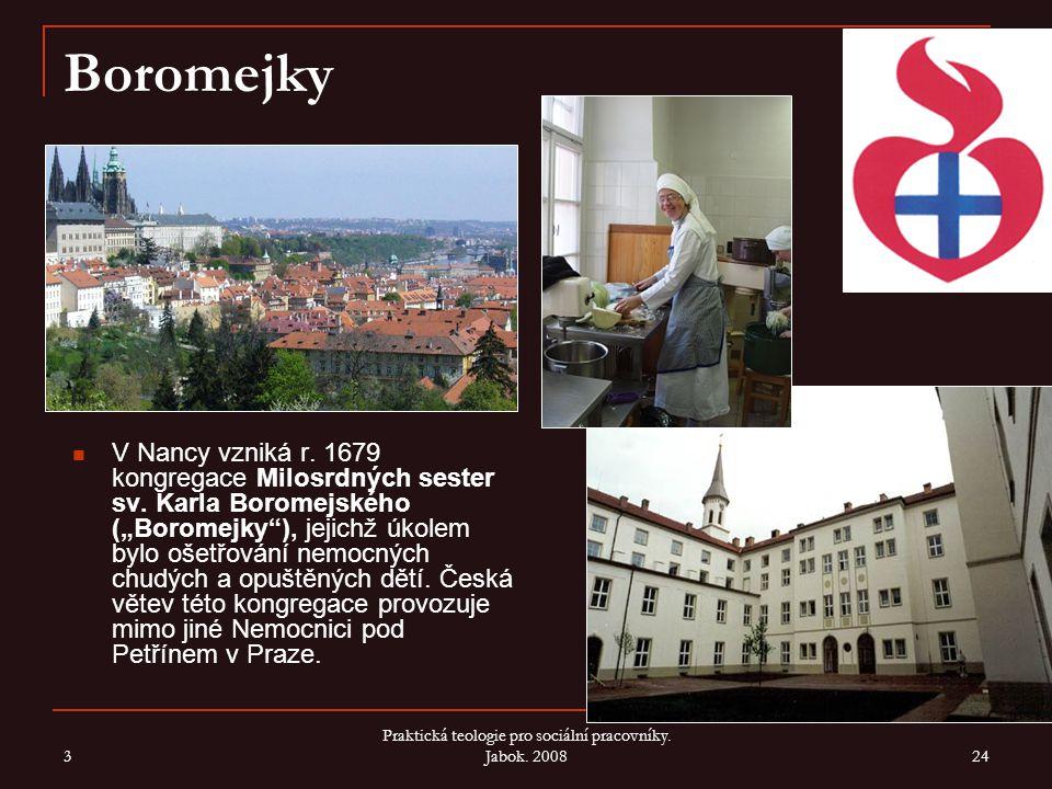 Praktická teologie pro sociální pracovníky. Jabok. 2008