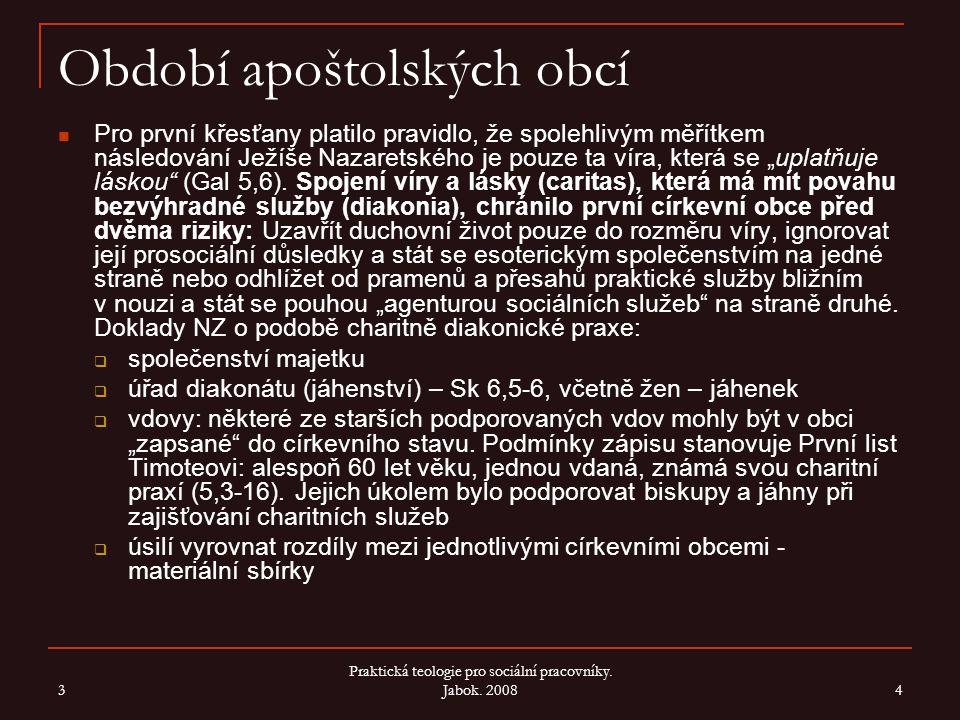 Období apoštolských obcí