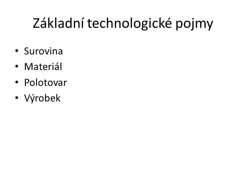 Základní technologické pojmy