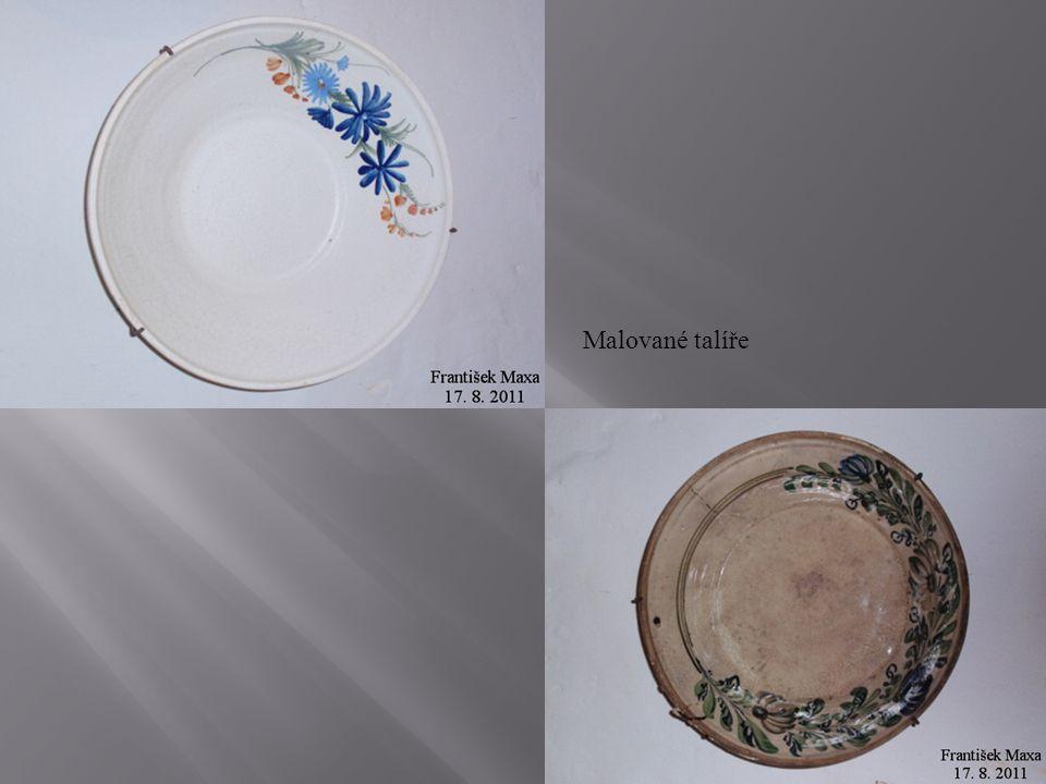 Malované talíře