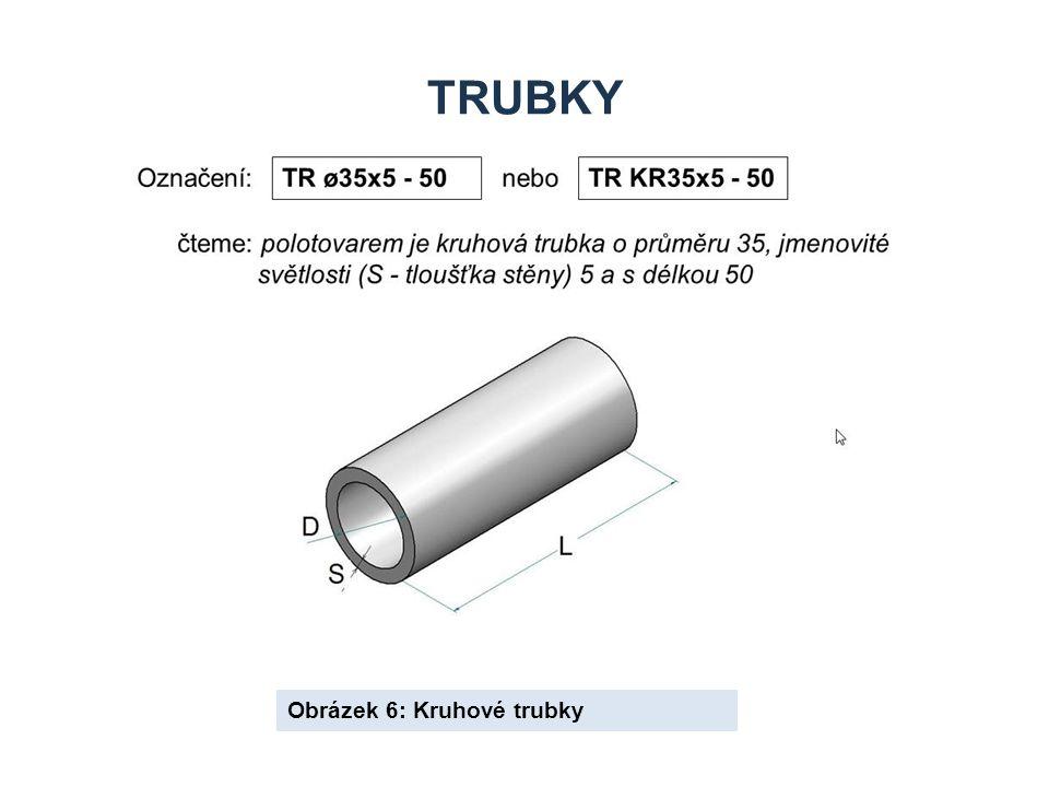 Trubky Obrázek 6: Kruhové trubky