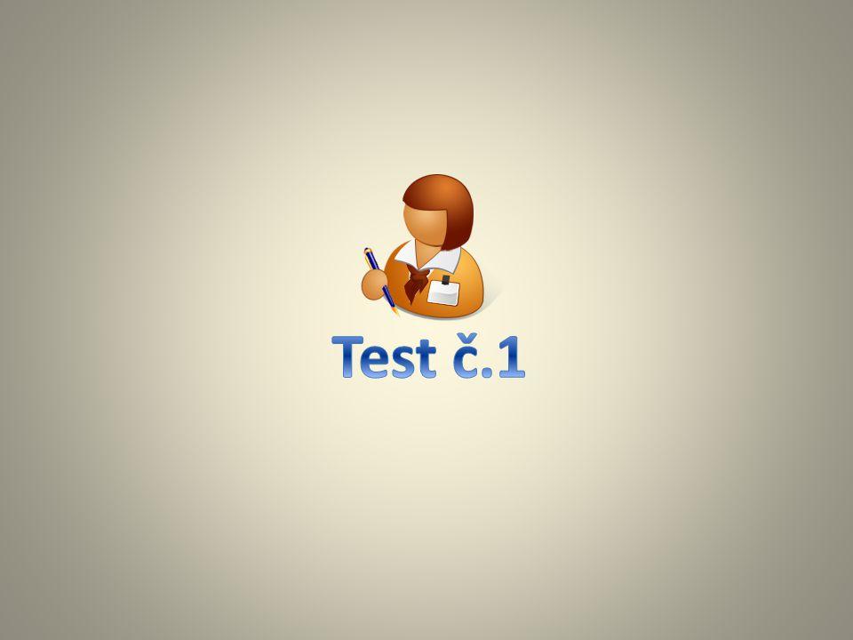 Test č.1