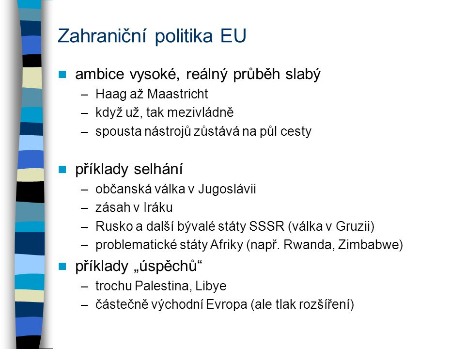 Zahraniční politika EU