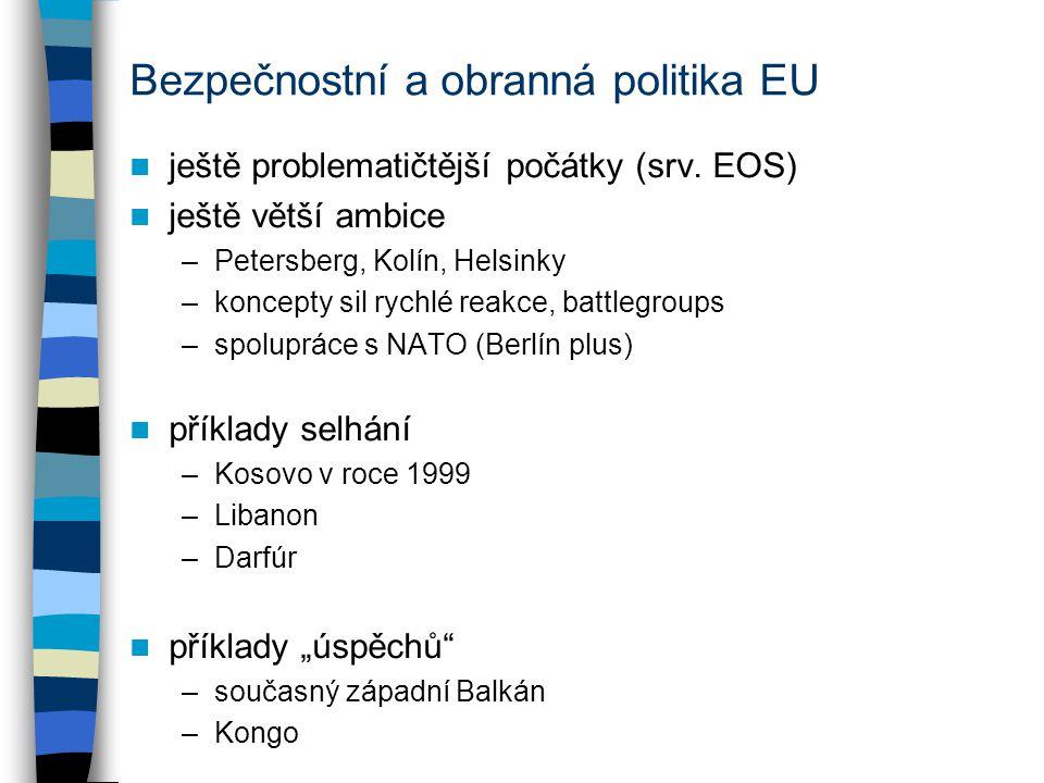 Bezpečnostní a obranná politika EU