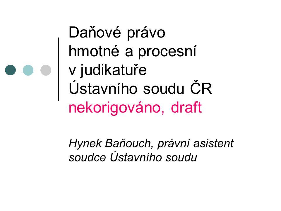 Hynek Baňouch, právní asistent soudce Ústavního soudu