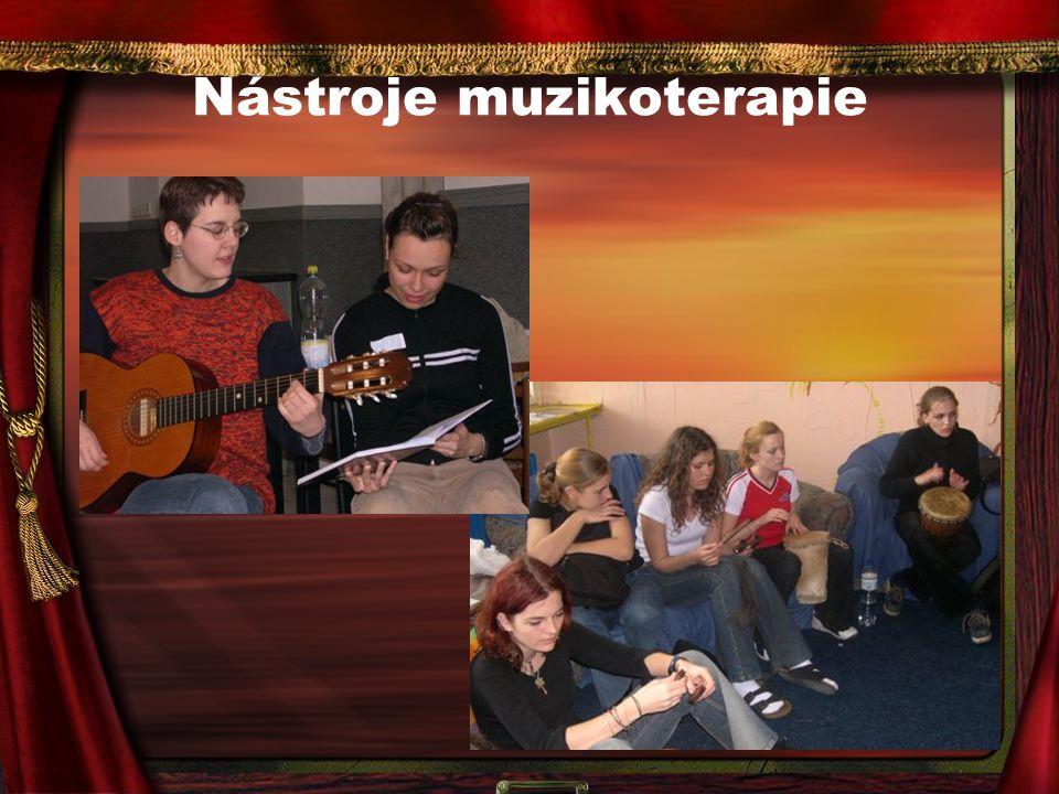 Nástroje muzikoterapie