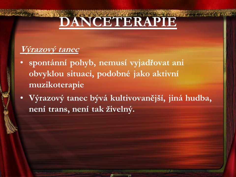 DANCETERAPIE Výrazový tanec