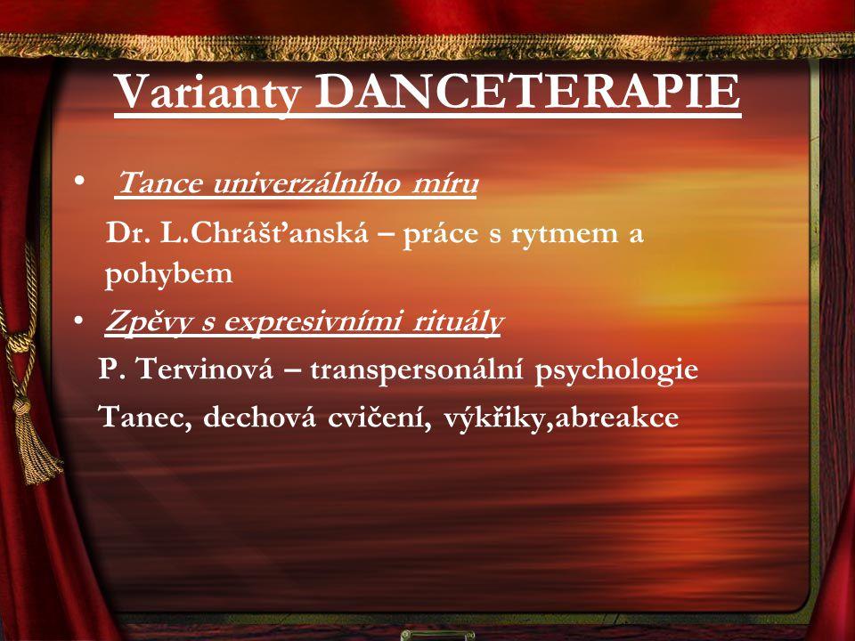 Varianty DANCETERAPIE