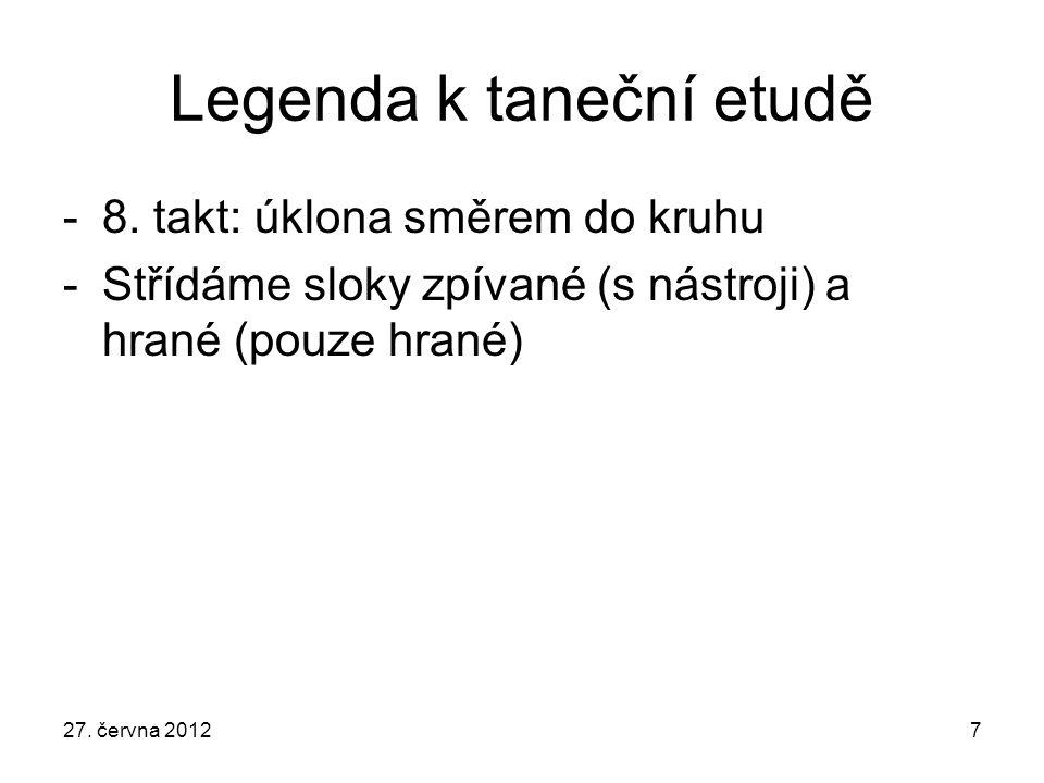 Legenda k taneční etudě