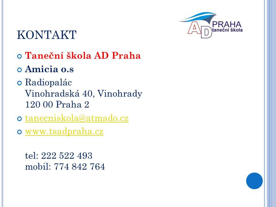 KONTAKT Taneční škola AD Praha Amicia o.s