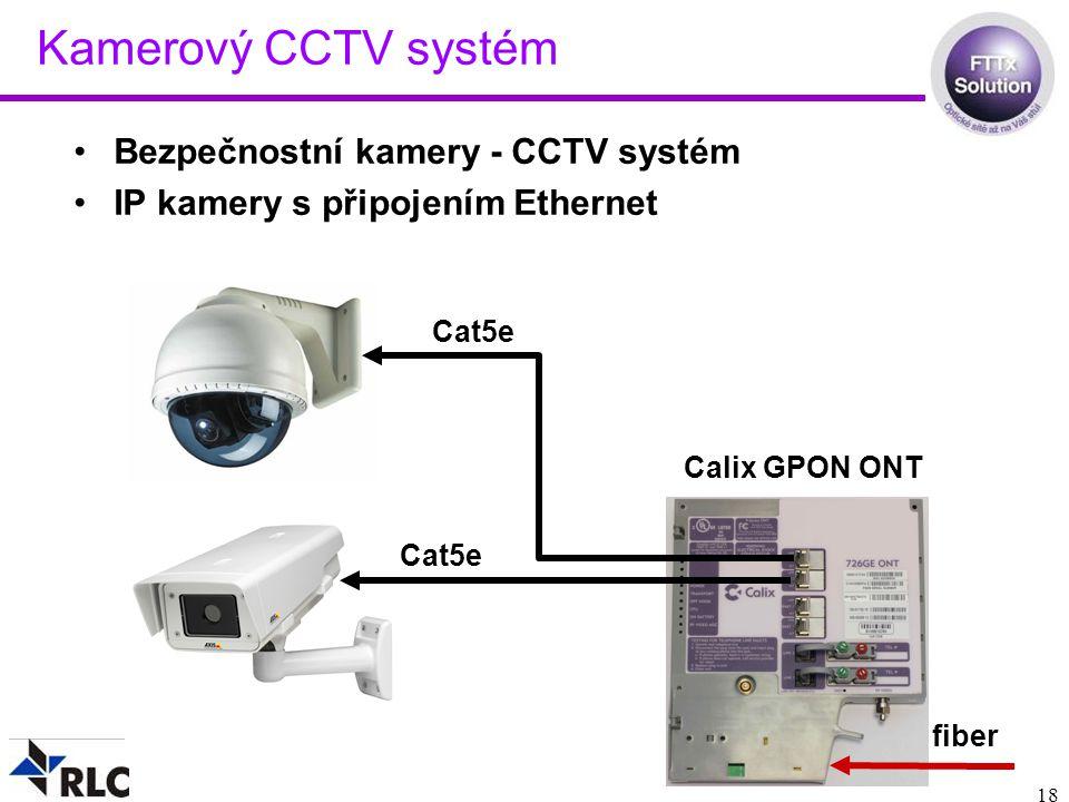 Kamerový CCTV systém Bezpečnostní kamery - CCTV systém