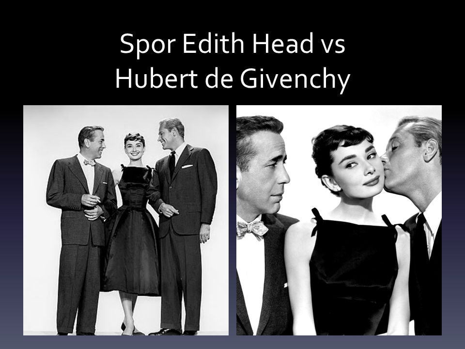 Spor Edith Head vs Hubert de Givenchy