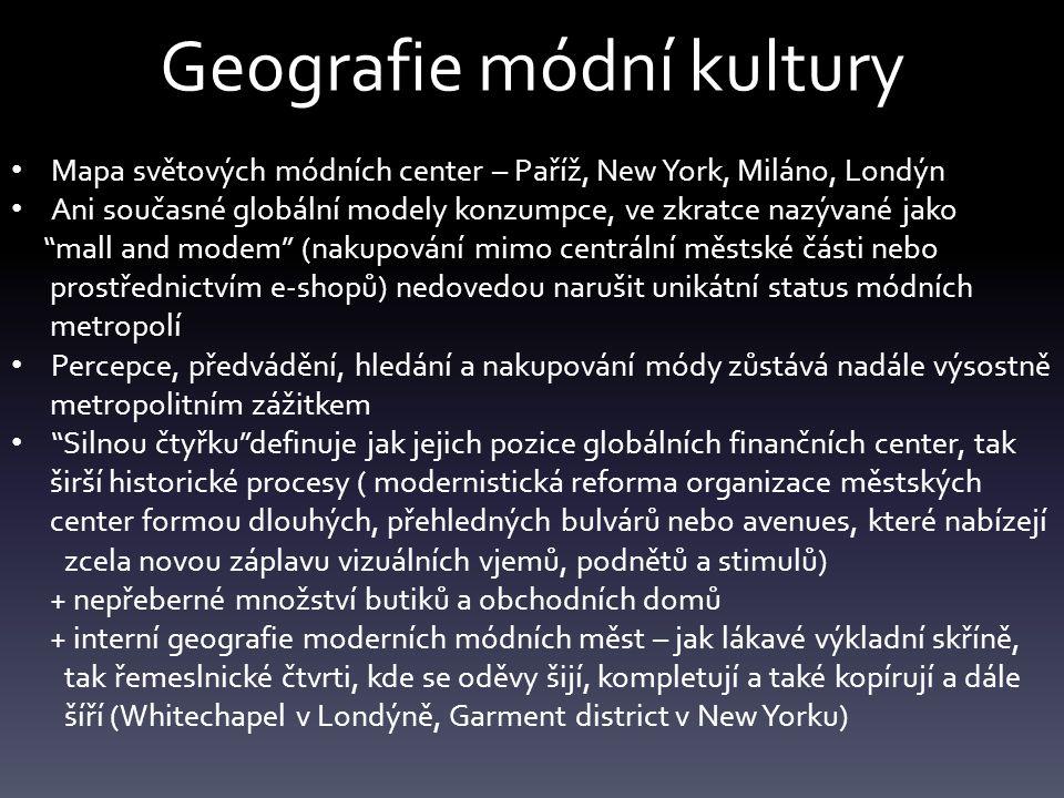 Geografie módní kultury