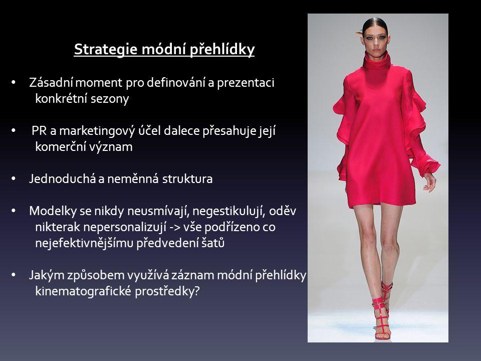 Strategie módní přehlídky