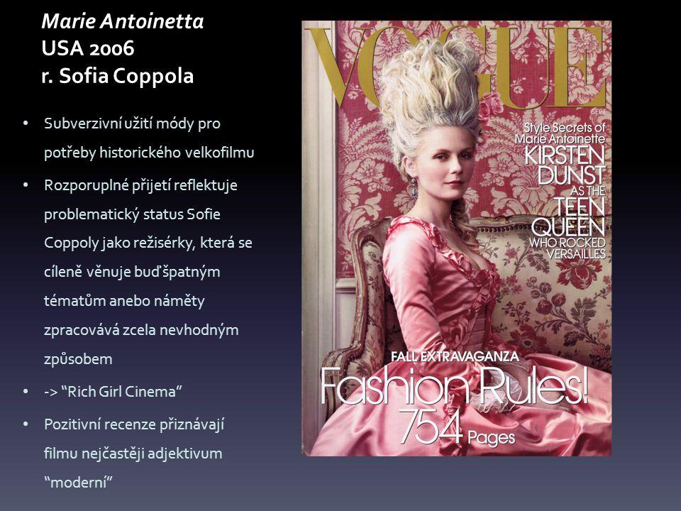 Marie Antoinetta USA 2006 r. Sofia Coppola