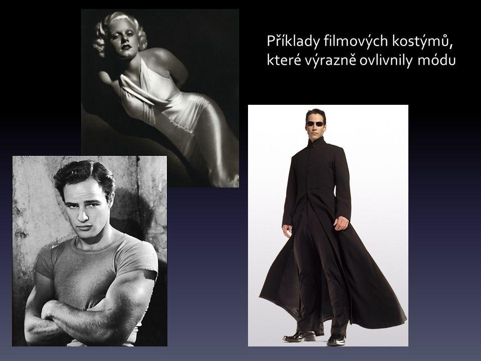 Příklady filmových kostýmů,