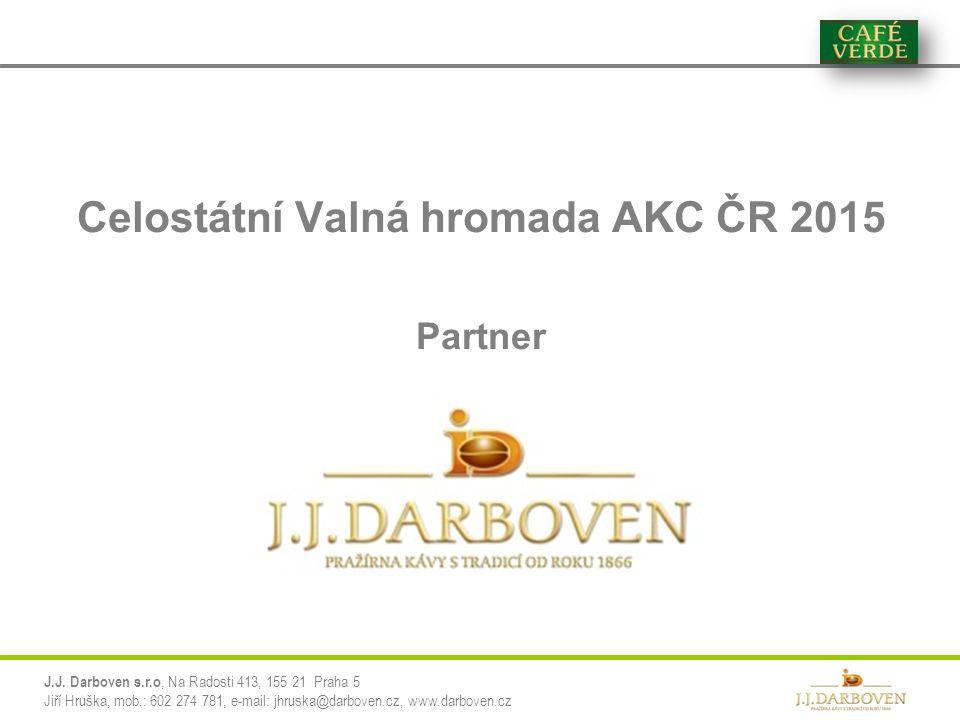 Celostátní Valná hromada AKC ČR 2015