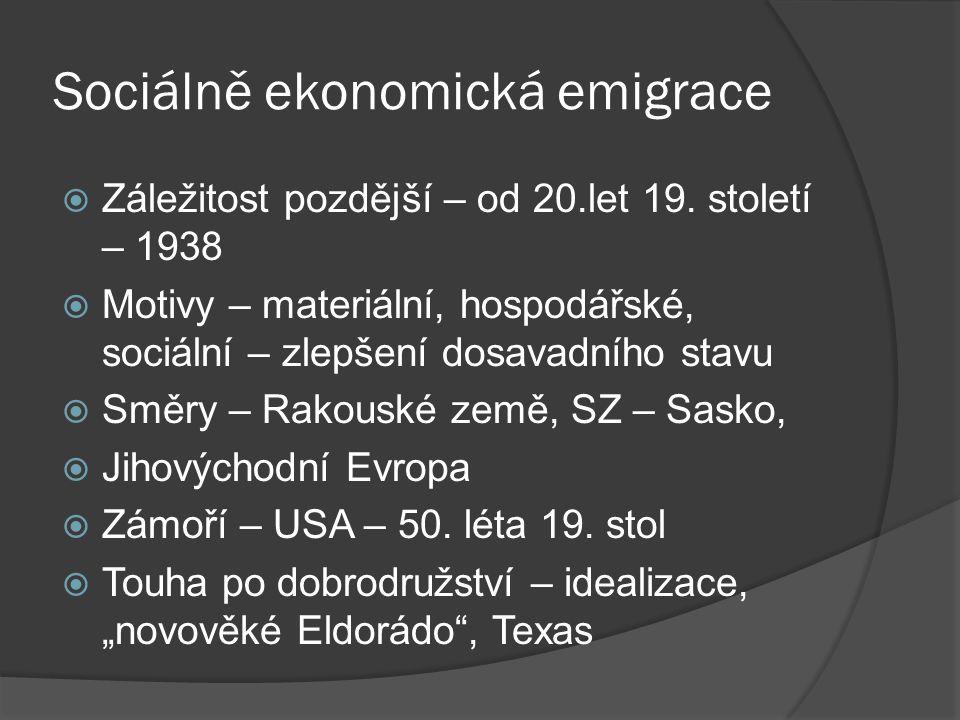 Sociálně ekonomická emigrace
