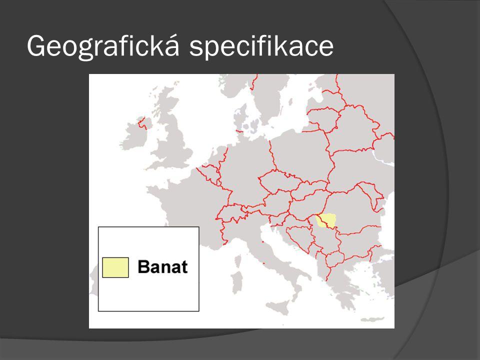 Geografická specifikace