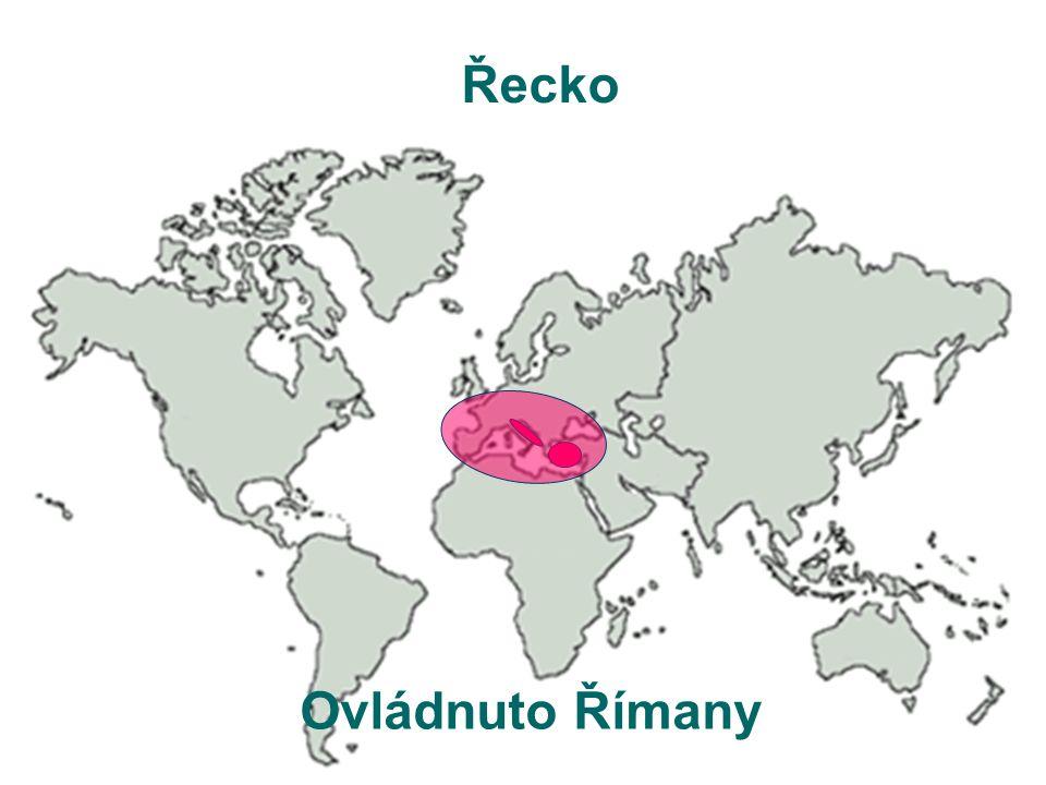Řecko Ovládnuto Římany