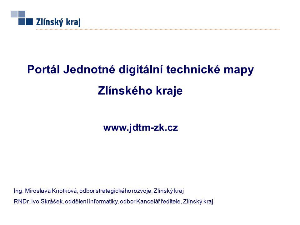 Portál Jednotné digitální technické mapy