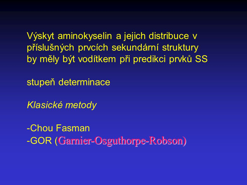 Výskyt aminokyselin a jejich distribuce v