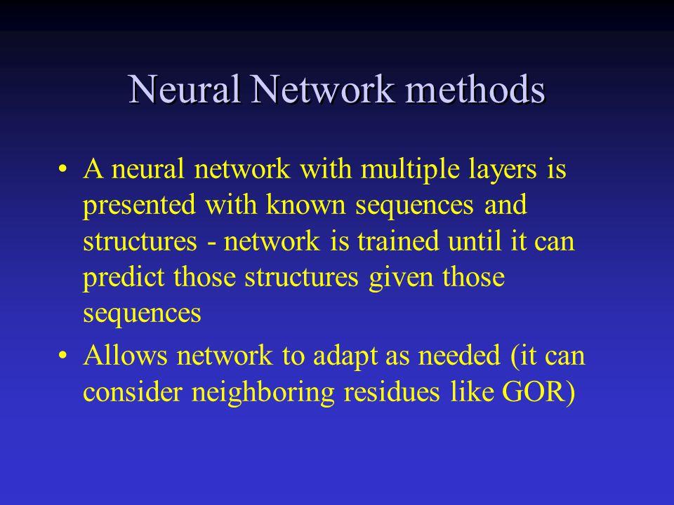 Neural Network methods