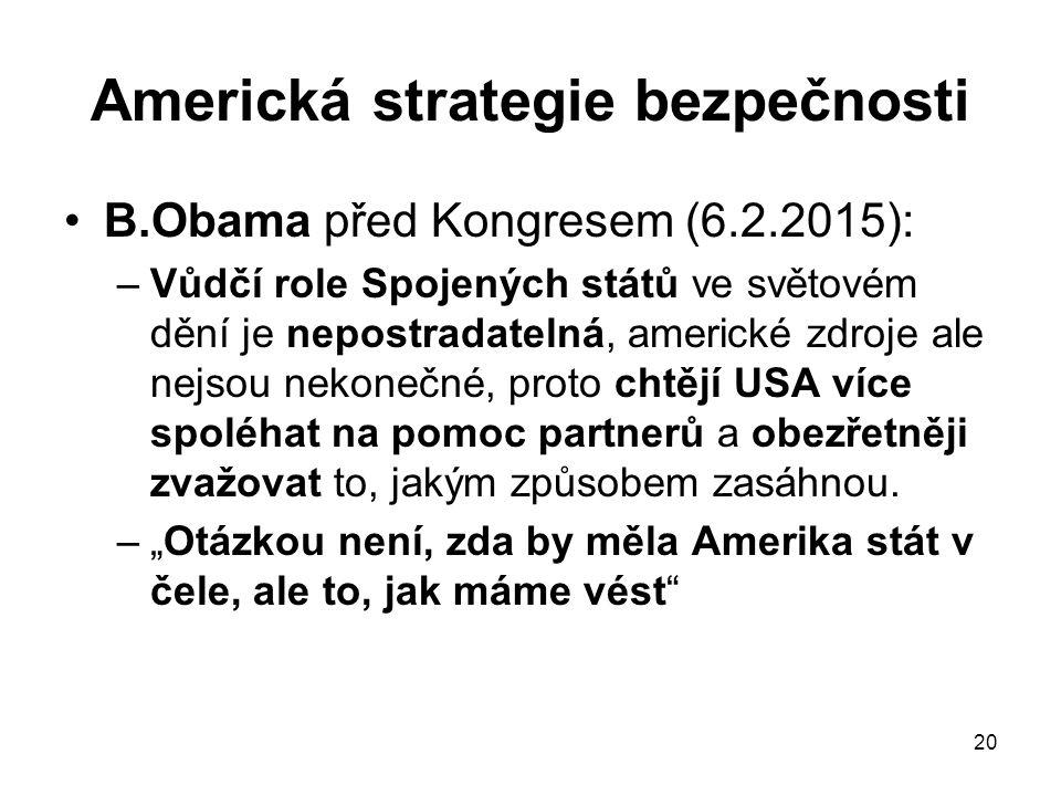 Americká strategie bezpečnosti