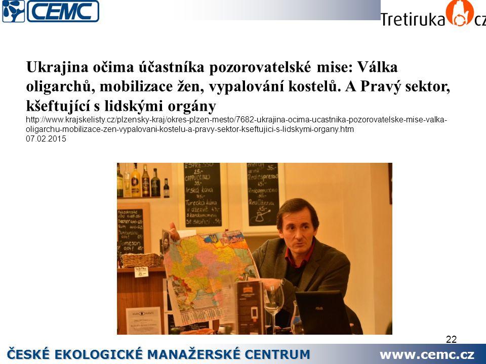 ČESKÉ EKOLOGICKÉ MANAŽERSKÉ CENTRUM