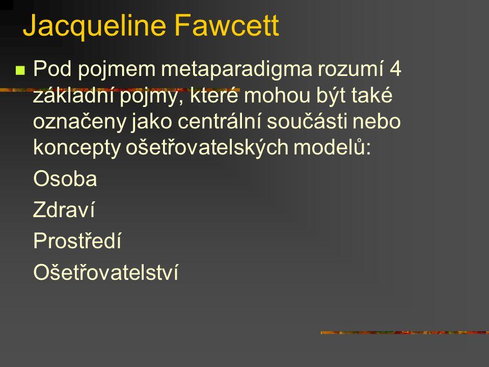 Jacqueline Fawcett