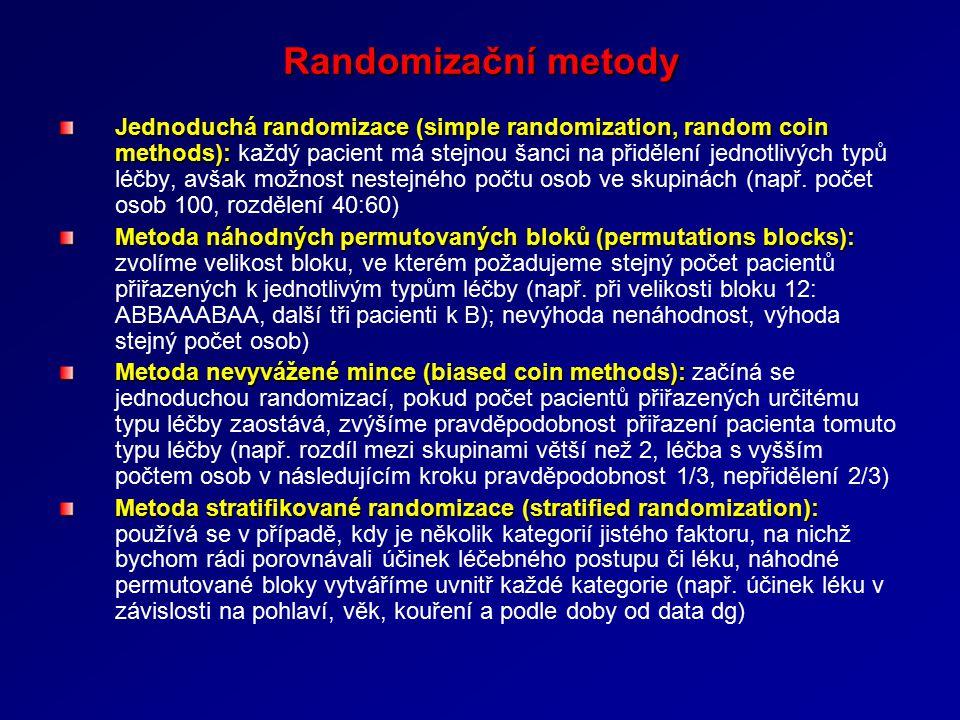 Randomizační metody