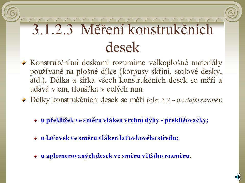 3.1.2.3 Měření konstrukčních desek