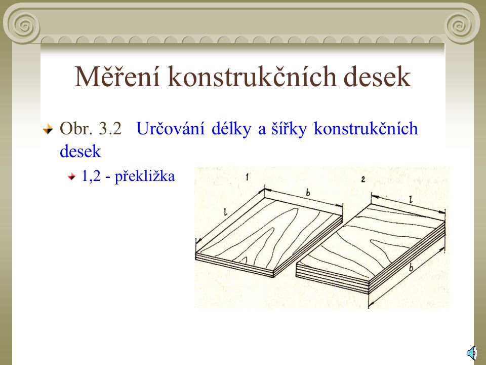 Měření konstrukčních desek