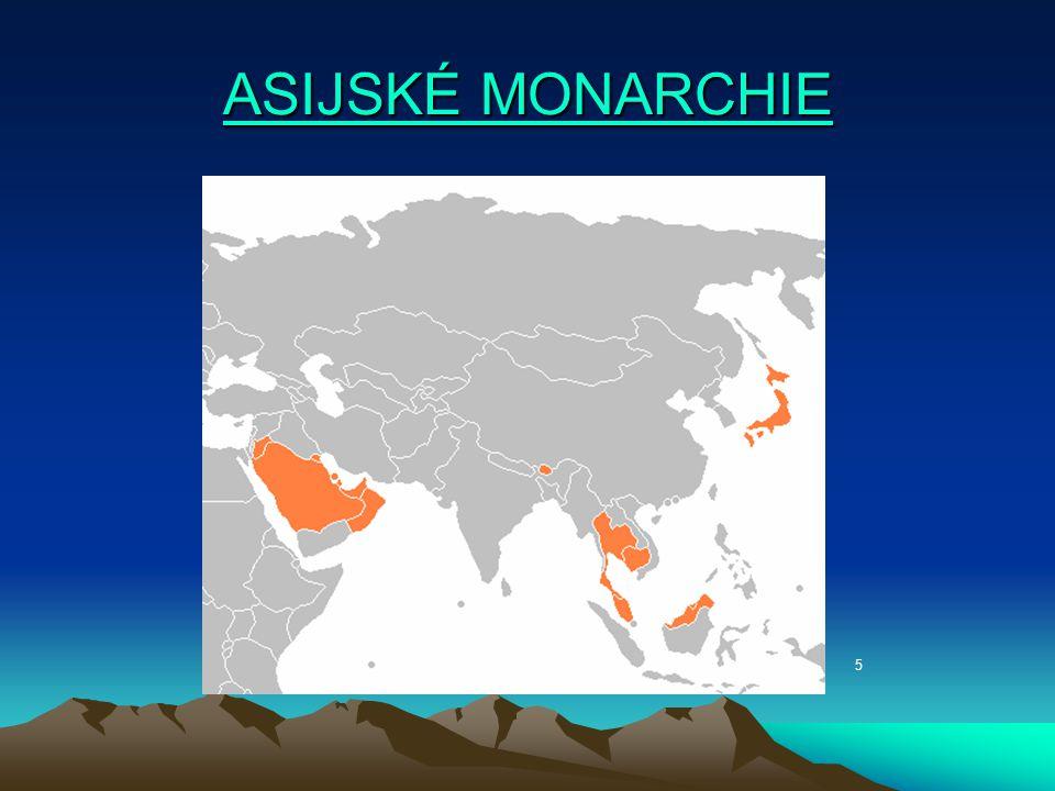 ASIJSKÉ MONARCHIE 5